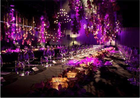 Purple ? such a fabulous colour scheme for a Wedding