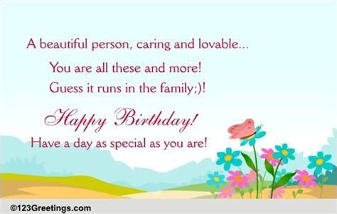 Happy Birthday! Free Extended Family eCards, Greeting