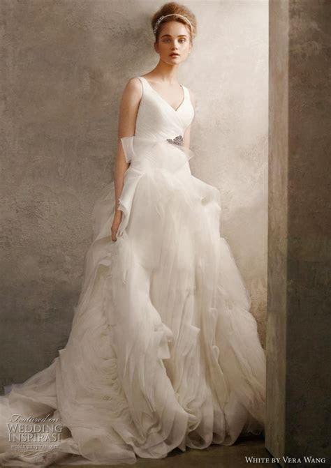 Vera Wang Vera Wang Organza Tulle Size 6 Size 3 Wedding