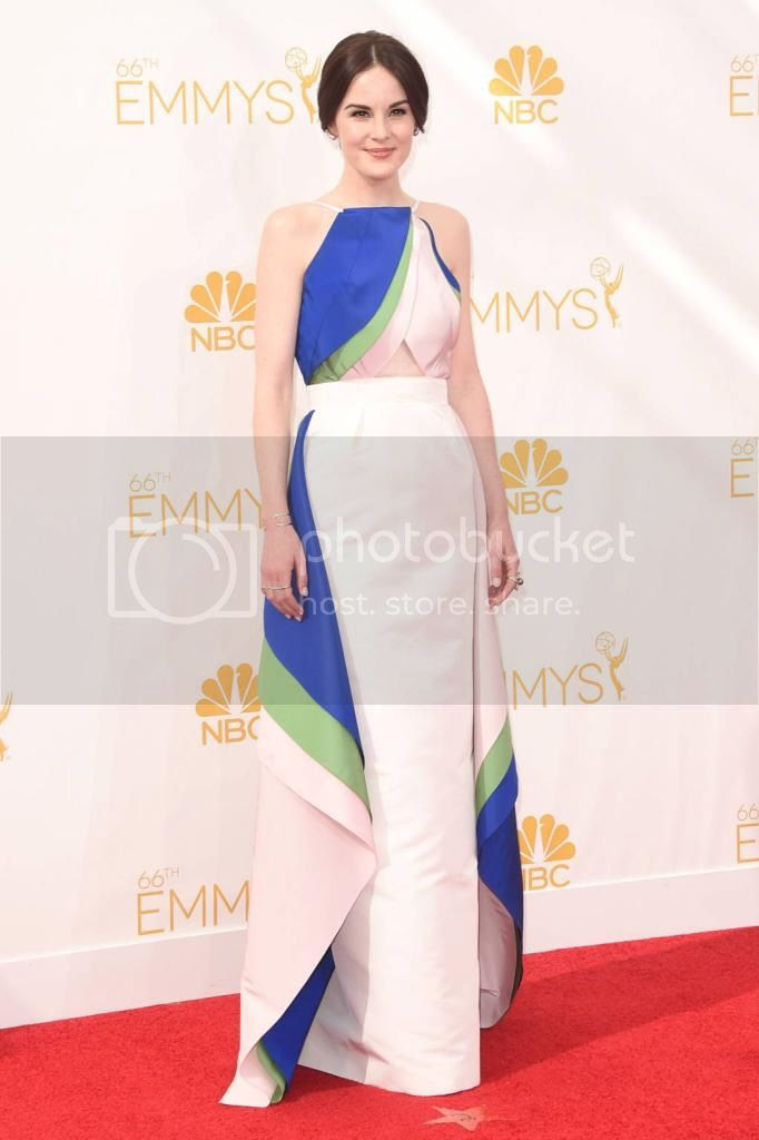 2014 Emmy Awards Red Carpet Fashion Style photo emmys-2014-Michelle-Dockery_zpsc2f2c07f.jpg