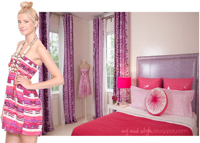 dress and room pink