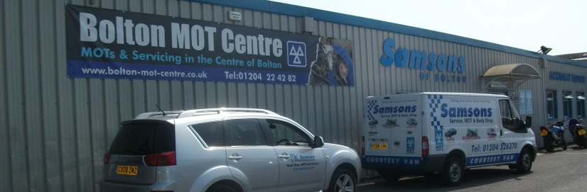 Bolton MOT Centre Location  Bolton MOT Centre