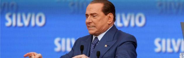 """Processo Mediaset, Berlusconi: """"Non farò l'esule. Se condannato, vado in galera"""""""
