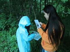 Reading a Clue for Geocaching