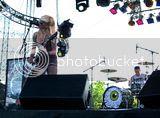 Sarah and drummer