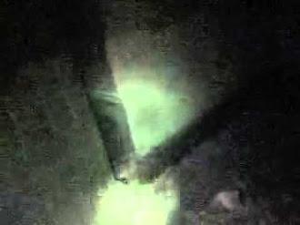 Mujer fantasma en casa abandonada / Ghost woman in abandoned house