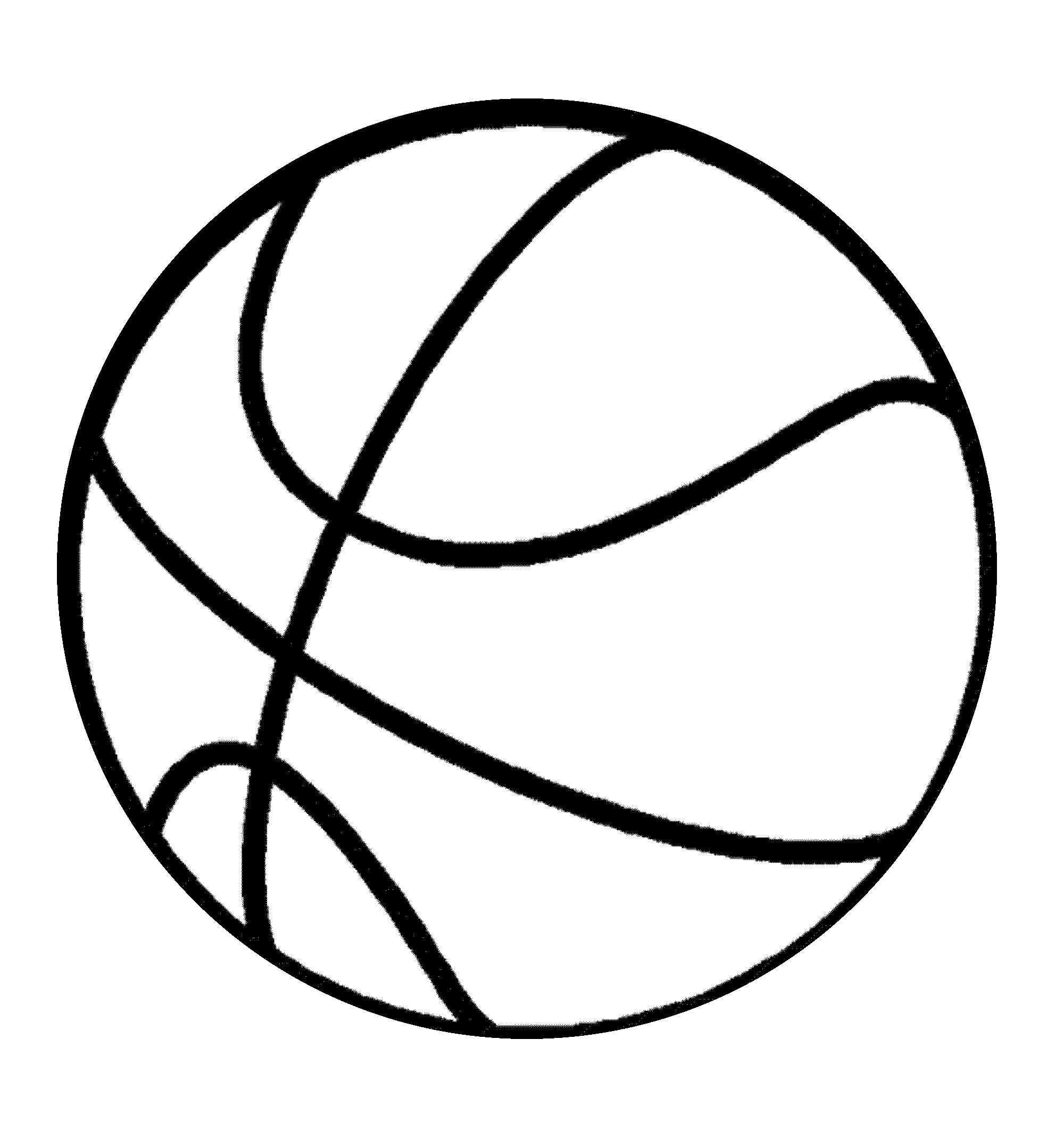 Image Coloriage basketball gratuit