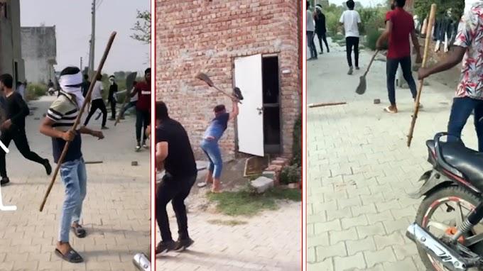 Sonipat: नाबालिग बेटी से छेड़छाड़ का विरोध करना परिवार को पड़ा भारी, गुंडागर्दी पर उतरे युवकों ने फरसे से किया वार, देखें VIDEO