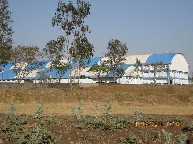 Supreme Industries, neighbor of Dajikaka Gadgil Developers' Anant Srishti at Kanhe, near Talegaon, Pune