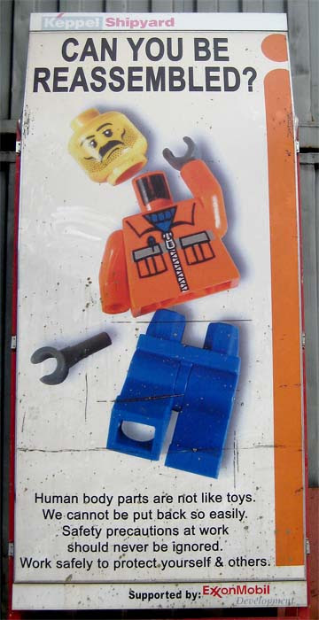 LEGO Safety Poster
