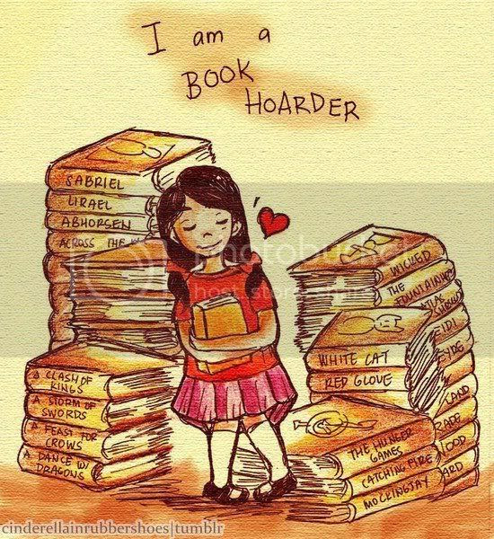 Grab button for Stacking My Book Shelves!