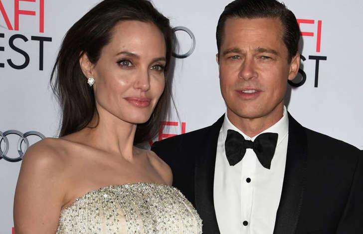 Angelina Jolie Pitt y Brad Pitt.
