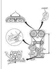 holden rodeo 1999 timing belt marks or rebuild manual