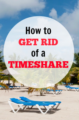 how to get rid of timeshares