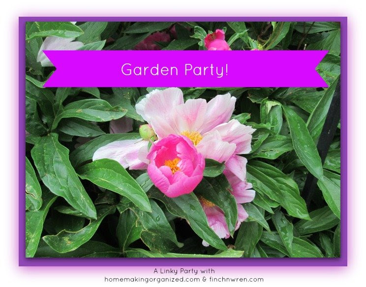 Garden Party Linky