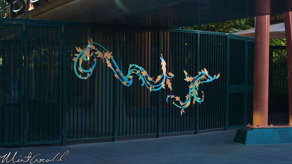 Disneyland Resort, Downtown Disney, Leaves, Decoration