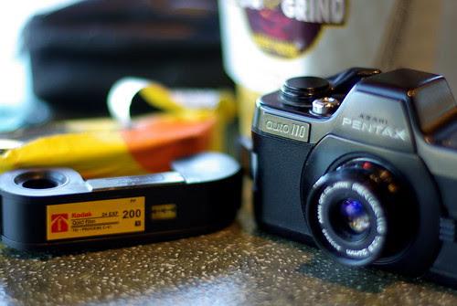 Pentax Auto 110 with Kodak Gold Film 200