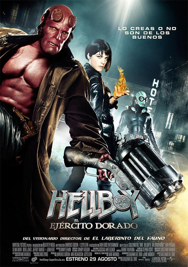 Hellboy 2: El ejército dorado (Guillermo del Toro, 2.008)