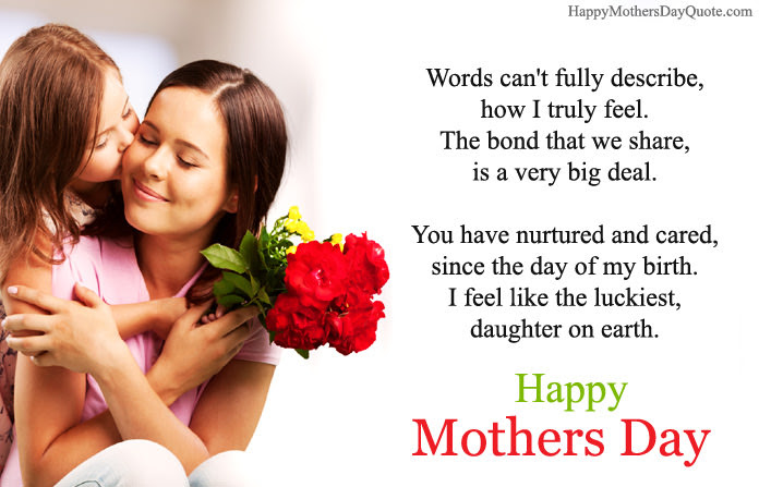 Heartfelt Thank You Quotes Wishes For Mothers Day From Daughter To Mom