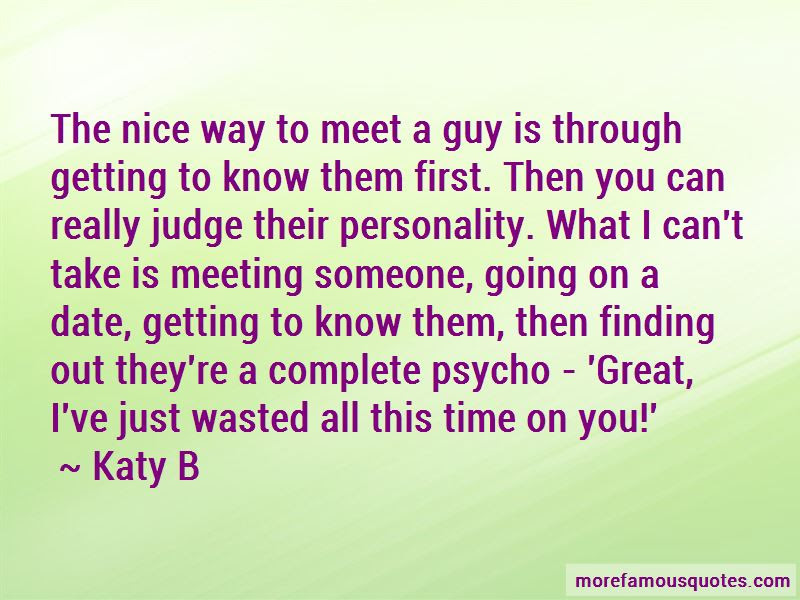Quotes About Meeting A Guy For The First Time Top 1 Meeting A Guy
