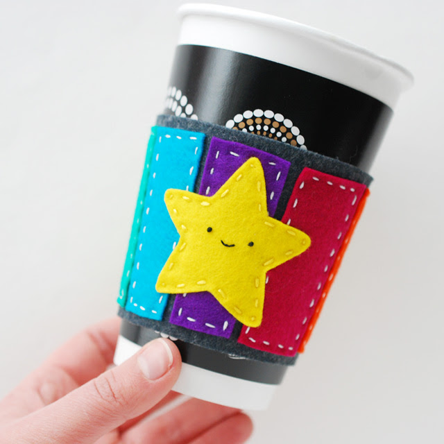 Mario Kart Rainbow Road Coffee Cuff