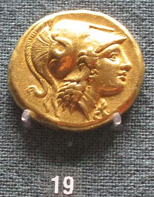 English: Mint of Alexander the Great: 19. Doub...