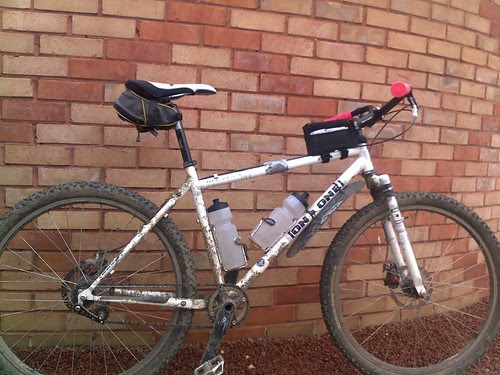 Inbred set up for long road ride