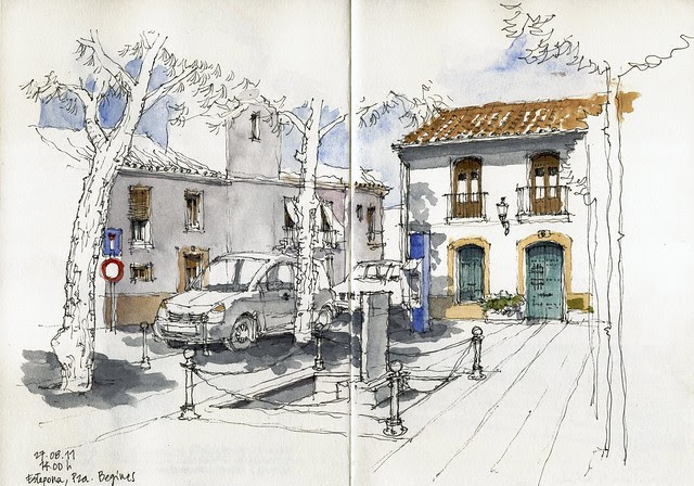 Estepona, Plaza Begines