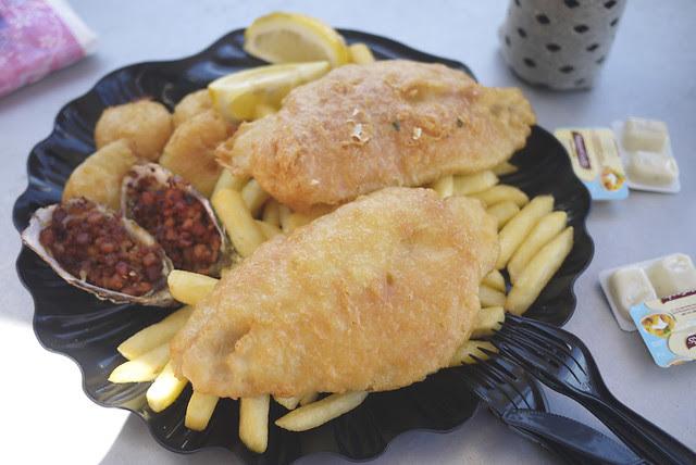 Lunch at Sydney Fish Market