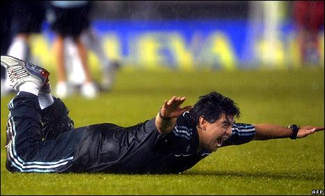 Argentina boss Diego Maradona