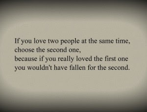 Amazing Celebrity Quote If You Love Two People At The Same Time