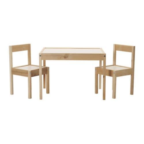 LÄTT Lastenpöytä + 2 tuolia IKEA