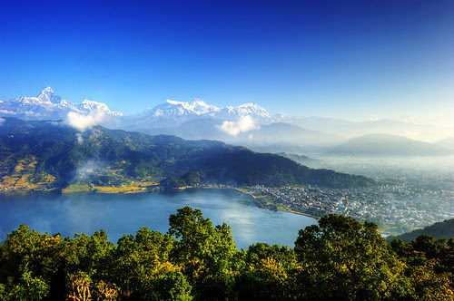 The City of Pokhara