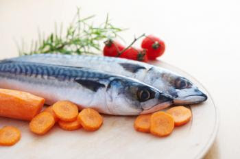 [fish and vegetables]