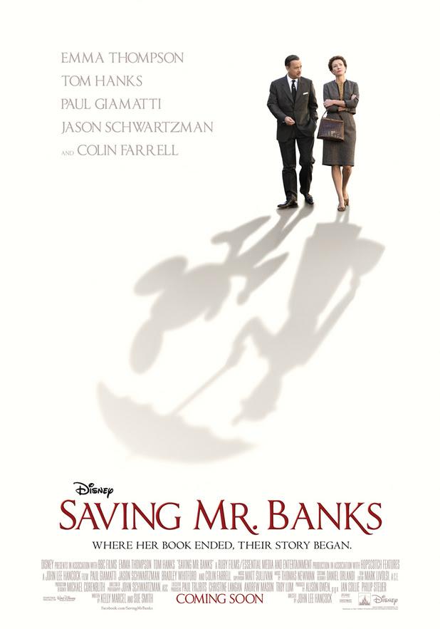 'Saving Mr Banks' UK teaser poster
