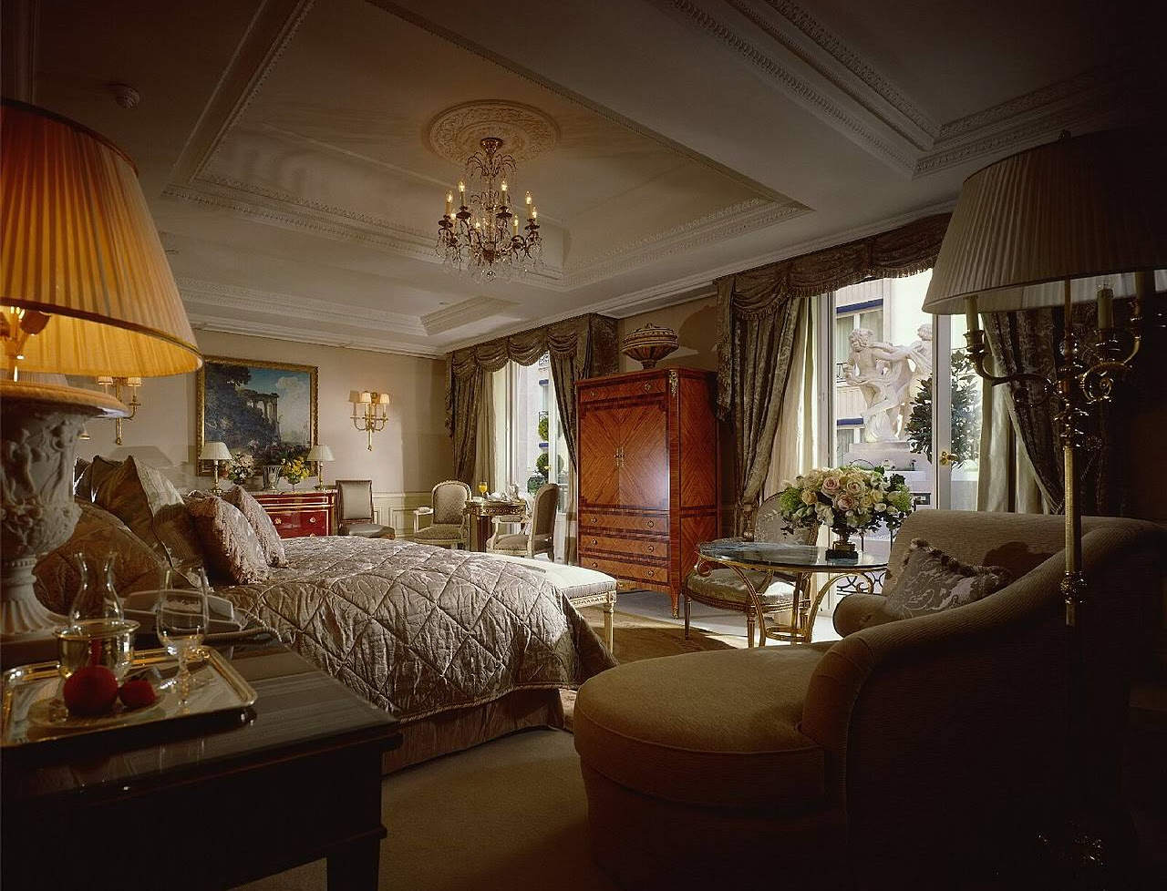 royal one bedroom four season paris 21 Optimized for Opulence: 7 Incredible Hotel Designs