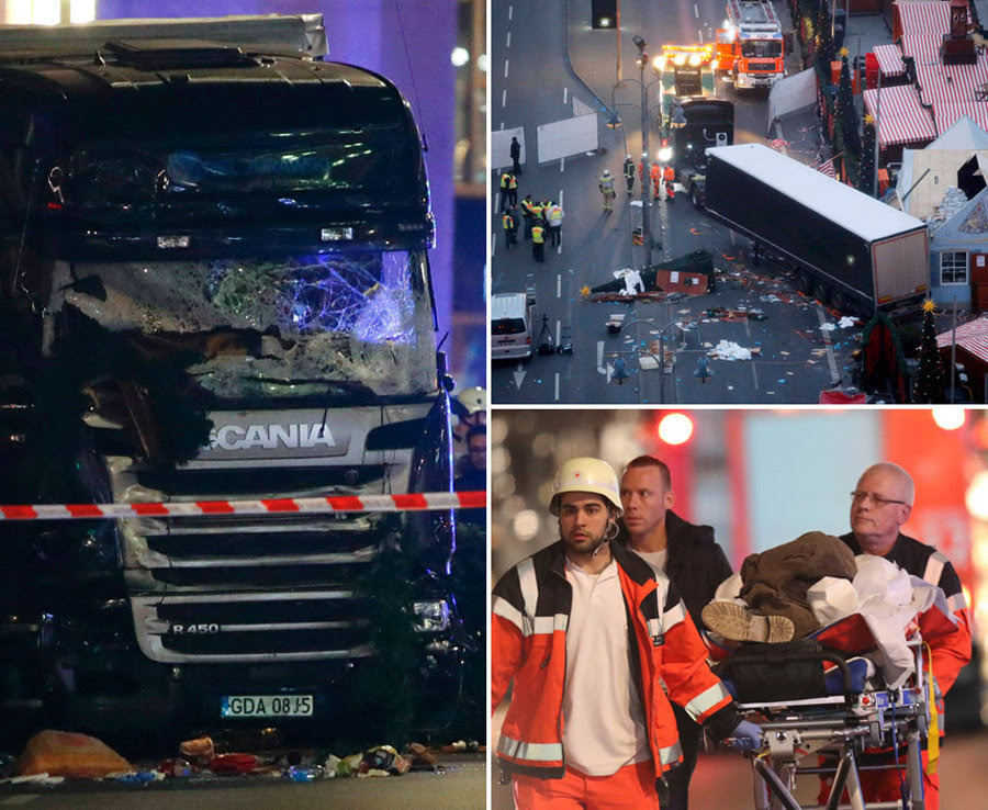 Image result for berlin truck christmas