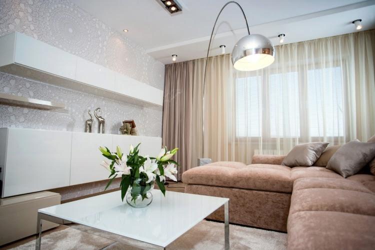 Ideen zur Wohnzimmereinrichtung - 29 moderne Beispiele