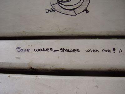 Спести вода - изкъпи се с мен :-)