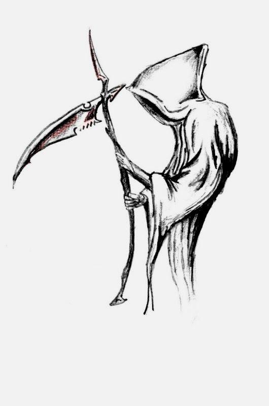 Simple Grim Reaper Drawing At Getdrawingscom Free For Personal