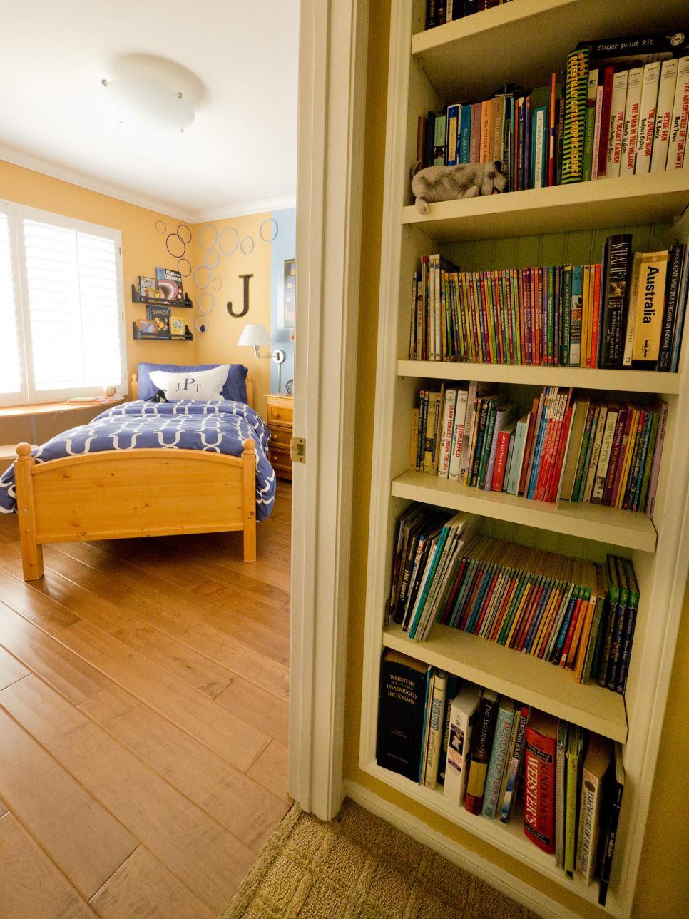 Small Boy s  Room  With Big Storage  Needs HGTV
