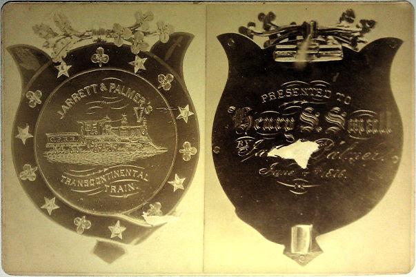 CPRR Transcontinental Express Train, Jarrett & Palmers, 1876