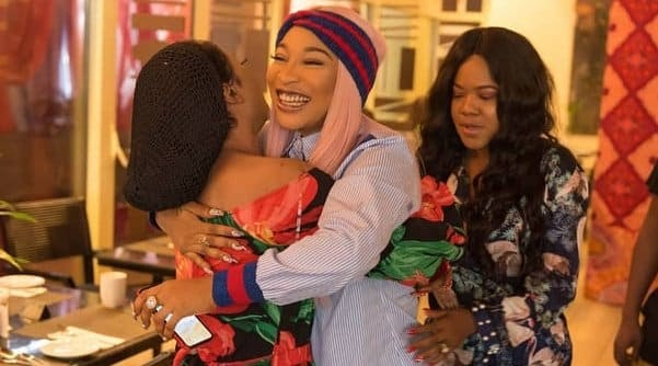 Update News: Tonto Dikeh and Bobrisky continue to ignore Toyin Abraham's triple celebration