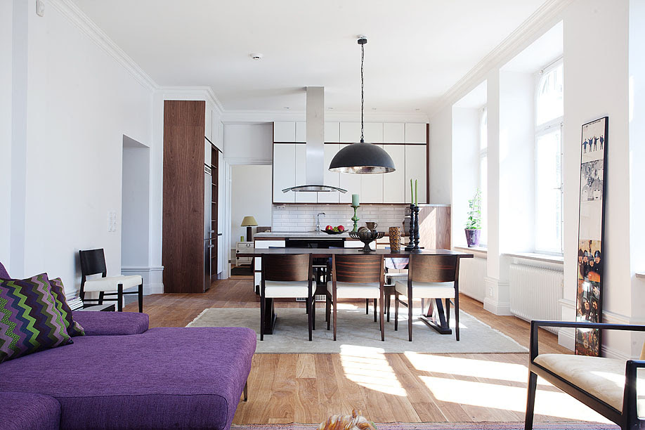 Stylish Small Studio Apartment In Stockholm | iDesignArch ...