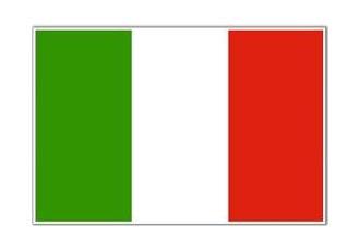 Italya Italy Devlet Bayrağı