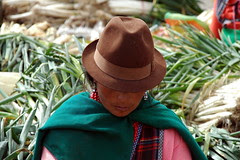 Le marché du jeudi à Saquisili