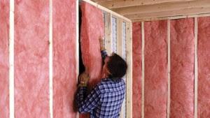 Aislamiento residencial: aislamiento de manta de fibra de vidrio