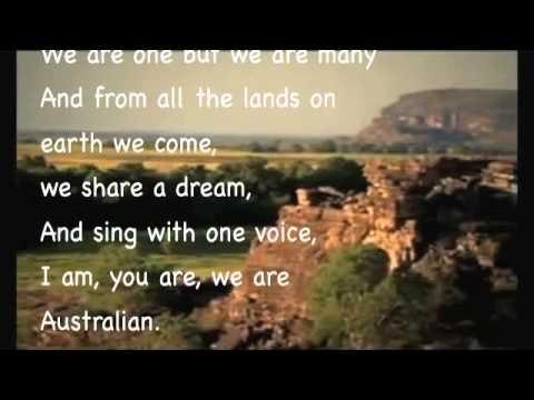 I Am We Are You Are Australian Lyrics