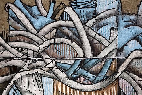 graffiti art de. urbain; art de la rue;