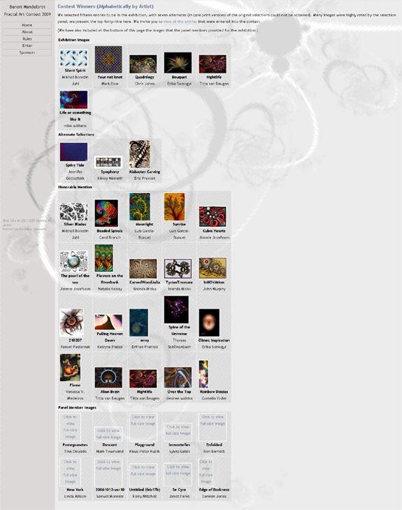 2009 BMFAC Leaked Winners Screencap